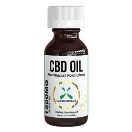 Green Roads 1500mg CBD Oil 30ML - Single Bottle