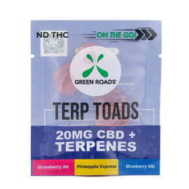 Green Roads 20mg CBD Terpene Terp Toad Gummies