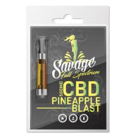 Savage 500mg Full Spectrum CBD Prefilled Cartridge - Single