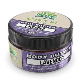 Erth Hemp 250mg Lavender CBD Wholesale Body Butter 4oz