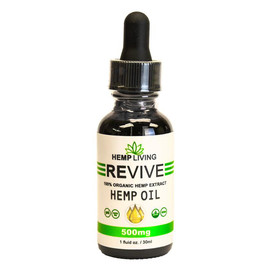 Hemp Living 500mg CBD Hemp Oil Tincture 30ML