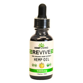 Hemp Living 1000mg CBD Hemp Oil Tincture 30ML