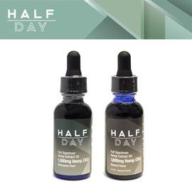 Half Day 1000mg Full Spectrum CBD Extract Oil 30ML - Natural - Wintergreen
