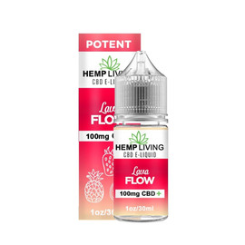 Hemp Living 100mg CBD Lava Flow E-Liquid 30ML