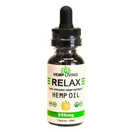Hemp Living 250mg CBD Hemp Oil Tincture 30ML