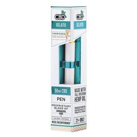 CBdfx Gelato Disposable CBD Terpenes Vape Pen