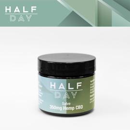 Half Day 350mg Full Spectrum CBD Salve 2oz