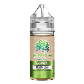 Erth Hemp 1000mg Lemon Lime CBD Hemp Oil Isolate E-Liquid 30ML