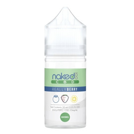 Naked 100 600mg CBD E-Liquid 30ML -  Hawaiian Pog - Lava Flow - Amazing Mango - Really Berry