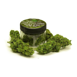 Hemp Living Sour Space Candy CBD Flower 5 Gram Jar