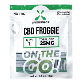 Green Roads 25mg CBD Froggies Gummies