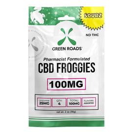 Green Roads 100mg CBD Froggies Sourz Gummies