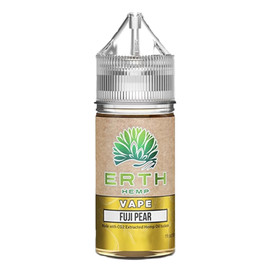 Erth Hemp 250mg Fuji Pear CBD Hemp Oil Isolate E-Liquid 30ML