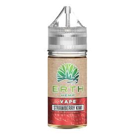 Erth Hemp 250mg CBD Hemp Oil Isolate E-Liquid 30ML - Strawberry Kiwi