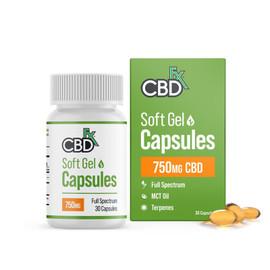 CBDfx 750mg Full Spectrum Soft Gel Capsules