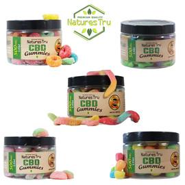 Natures Tru 500mg CBD Gummies