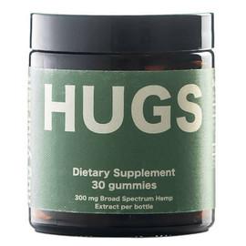 HUGS 300mg Broad Spectrum CBD Gummies - Pack Of 30