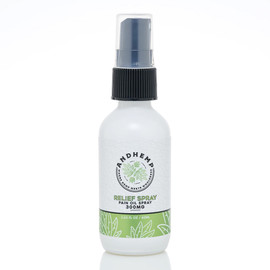 AndHemp 300mg Broad Spectrum Topical Pain Relief Oil Spray60ML -2oz