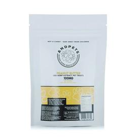AndHemp 100mg Hemp Extract CBD Pet Treats - Pack of 20 - Peanut Butter