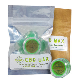 Natures Tru 250mg CBD Wax Concentrate