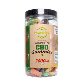 Natures Tru 2000mg CBD Gummies (MSRP $70.00) - Sour Gummies