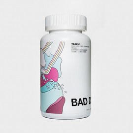 BAD DAYS 500mg Tropical CBD Chewable Gummies 50ct