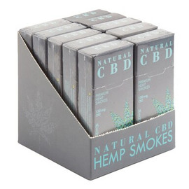 Natural CBD Premium CBD Cigarettes - Display of 10 - Menthol