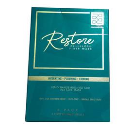 Cannatera Beauty 40mg Restore Face Mask - Pack of 4