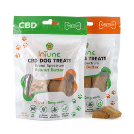 Intune CBD Dog Treats 10mg Individual Pack of 15
