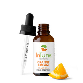 Intune 250mg Broad Spectrum CBD Tinctures 30ml