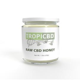 Tropicbd Raw CBD Honey 1.5oz