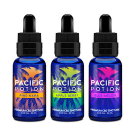 Pacific Potion 500mg CBD Isolate Tincture 30ML
