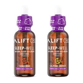 Lift CBD 1500mg ZZZ SLEEP Advanced Spectrum CBD Sleep Aid Tincture - Calming Honey, Tangerine