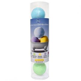 CBD GoldLine 25mg Full Spectrum CBD Bath Bombs - Pack of 5