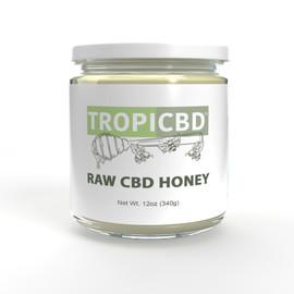 TropiCBD Raw CBD Honey 12oz