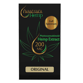 Airbender Hemp Full Spectrum CBD 200MG 1ML Replacement Compatible Pods - Display Of 5 (MSRP $22.00 Each)