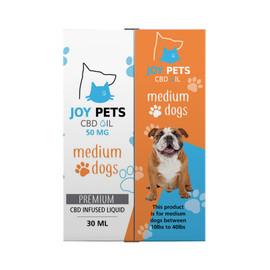 Joy Pets 50mg CBD Oil for Medium Dogs 30ml
