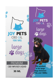 Joy Pets 100mg CBD Oil for Large Dogs 30ml