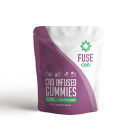 Fuse 250mg CBD Infused Gummies 10ct