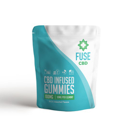 Fuse 100mg CBD Infused Gummies 10ct