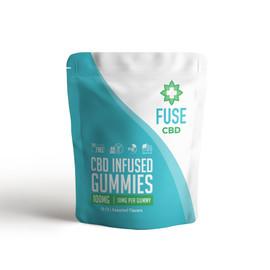 Fuse 100mg CBD Infused Gummies 10ct
