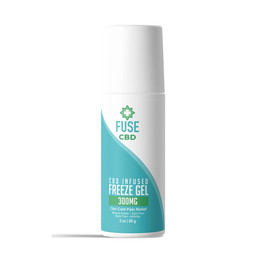 Fuse CBD Infused 300mg Freez Gel 3oz