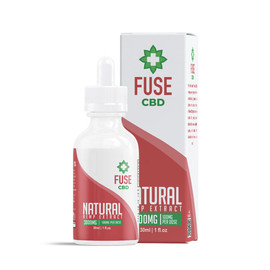 Fuse 3000mg CBD Hemp Extract Tincture 30ML