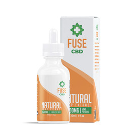 Fuse 1500mg CBD Hemp Extract Tincture 30ML