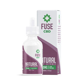 Fuse 750mg CBD Hemp Extract Tincture 30ML