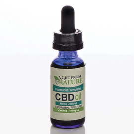 A Gift From Nature 3000mg CBD Oil Tintcure 30ML