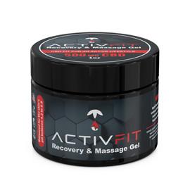 ActivFit 500mg CBD Recovery & Massage Muscle Gel 1oz
