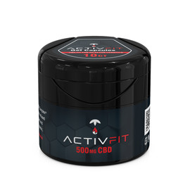 ActivFit 500mg CBD Gel Capsules - 10ct