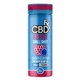 CBDfx 200mg Full Spectrum CBD Berry Chill Shot 60mL