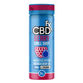 CBDfx 200mg Full Spectrum CBD Berry Chill Shot 60mL